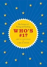 Who's #1?: The Science of Rating and Ranking, , Meyer, Carl D.,Langville, Amy N.