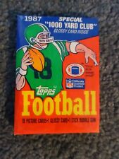 Topps Football Cards 1987 Wax Pack
