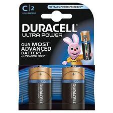 2X Duracell Ultra Power C TIPO PILAS ALCALINAS DURALOCK - 1.5vv Lr14 mx1400