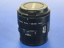 Minolta AF 50mm f2.8 Prime Macro Lente reproducción de fotograma completo de 1:1 - (#8)