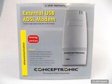 Conceptronic C03-008 Externes USB ADSL Analog Modem Annex A (Österreich) NEU