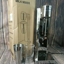 Used Commercial Stainless Steel Milk Shake Machine Drink Mixer 180v