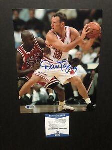 Dan Majerle autographed signed 8x10 photo Beckett BAS COA NBA Miami Heat Suns