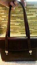 KORET Leather Handbag/ Purse/ Shoulder Bag w/ Coin Purse Plum/Eggplant ~Lovely!