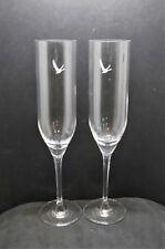 Grey Goose Vodka Glasses x 2 New