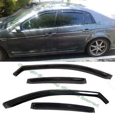Fit 04-08 Acura Tl In-Channel Jdm Smoke Window Visors Rain Guard Deflectors (Fits: Acura Tl)