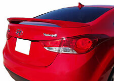 PAINTED ALL COLORS SPOILER FOR A HYUNDAI ELANTRA FACTORY STYLE 2011-2016