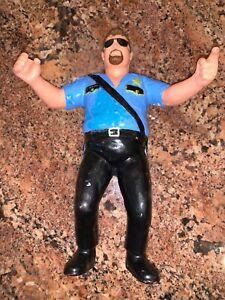 WWF LJN Wrestling Superstars Titan Sports 1989 Big Boss Man - Grand Toys LTD.