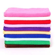 10pcs 20*20cm Square Towel Soft Fiber Cotton Face Hand Car Cloth Towel T
