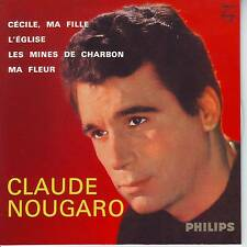 CD EP CLAUDE NOUGARO ** CECILE MA FILLE ** L'EGLISE
