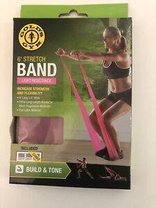 Gold's Gym 6' Stretch Band