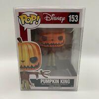 RARE - Funko POP Vinyl Pumpkin King #153 - The Nightmare Before Christmas