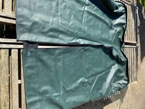 Morgan +4 Green Tonneau Cover fits Ford GDi Engined recent +4 with easy up hood