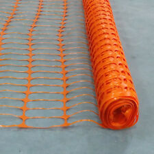 15M X 1M Orange Barrier Fencing Plastic Mesh Safety Netting Event Fence