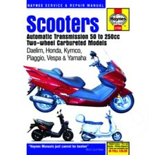 Repair Instructions Scooter 50Cc-250Cc For Yamaha CY 50 Jog 1992 - 2001