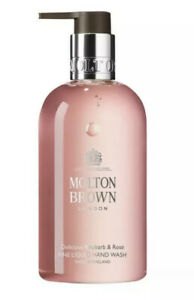 Molton Brown Delicious Rhubarb & Rose Fine Liquid Hand Wash, 300ml