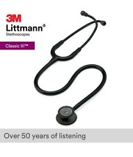 3m Littmann Classic Iii 27 Inch Monitoring Stethoscope Black 5811