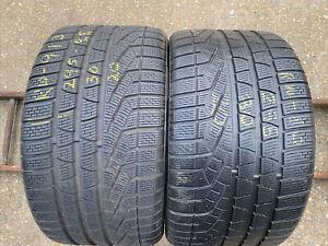 2x295 30 20 (97 V) Pirelli Sotto Zero NO Winter 240 Series II M+S Tread 5.8 mm