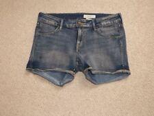 Denim Shorts H&M Size 10/12 eu 40 30 waist stretchy v comfy gt cond summer