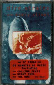 dire straits - on every street RARE Original 1991 Canadian Cassette (Brand New!)