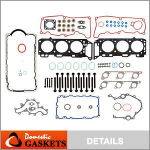Fits 04-10 Ford Explorer Ranger Mazda B4000 4.0 SOHC Full Gasket Set Bolts VIN E