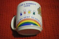 RAINBOW GUIDE MUG .COLLECTABLE   VGC RETRO
