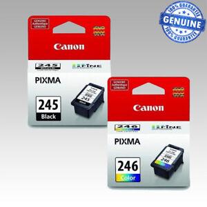 Canon PG-245 CL-246 Ink Cartridges Black Color TR4520 TS3320 MG2525 MG2522 TS302