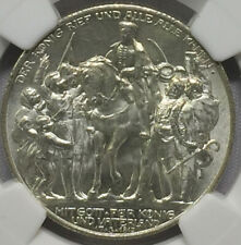 1913A Germany Prussia 2M Napoleon defeat NGC MS62+ -BLAST WHITE SUPERFROST