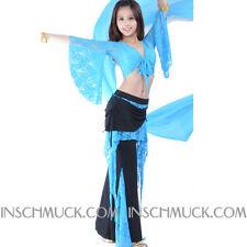 C91804 Bauchtanz Kostüm 2 Teile Top + Hose Belly Dance