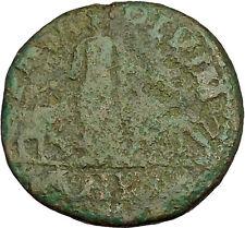 Philip 'the Arab' Big Ancient Roman Coin Viminacium  Legion Bull Lion  i40262