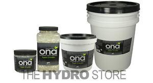 ONA Apple Crumble Gel Quart / 1 Gallon Jar & Pail / 5 Gal -odor air neautralizer