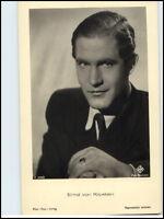 ~1960 Postkarte Kino Bühne Film Foto Verl. ActorSchauspieler Ernst von Klipstein