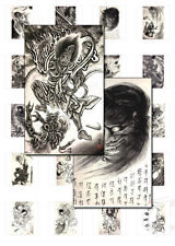 JAPANESE TATTOO DESIGNS - Over 200 Images - Printable - DEMONS & HEROES