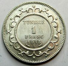 TUNISIE - 1 Franc - 1915 - QUALITE