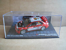 Rally Model Car IXO 1:43 MITSUBISHI LANCER WRC Monte Carlo 2006 G.Panizzi [MZ12]