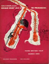 Norman Granz Jazz Philharmonic Ella Fitzgerald Original Concert Brochure Photos