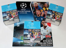 Topps Champions League 2016/2017 16/17 - 3 X Display Box 150 Packets + Album
