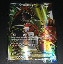 Groudon EX 150/160 XY Primal Clash Set FULL ART Holo Pokemon Card NEAR MINT