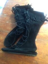 Minnetonka Stiefel 1429 schwarz Gr.8