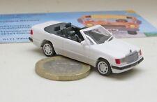 Herpa 02112 mercedes-benz 300 CE, cabriolet, blanco