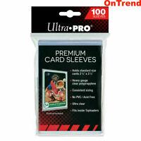 100 ct. Ultra Pro Platinum Premium Card Protector Sleeves MTG Yugioh Pokemon
