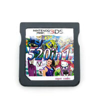 NEW 520 in1 Games Cartridge card For Nintendo NDS NDSL NDSI DS Lite 2DS 3DS TOP