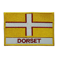 Dorset County Flag Patch Iron On Patch Sew On Embroidered Patch