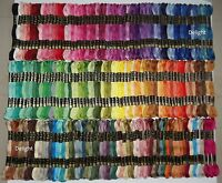 "200 DIFFERENT BEAUTIFUL ANCHOR Cotton Thread Skeins / Floss ""SOLID COLOURS"""