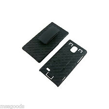 VZW Hard Shell Case w/ Holster Combo for LG Spectrum 2 VS930 NEW