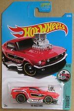 Hot Wheels 2017 27 of 365 '68 Mustang Hotwheels Tooned - Long Card