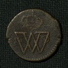 Mexico Durango 1817 Octavo 1/8 Real War Of Independence Royalist Copper Coin