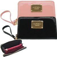 Ladies LYDC Zip Around Small Patent Purse Wallet Anna Smith Purse Clutch PL281C