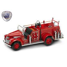 GMC FIRETRUCK 1941 1:24 Yat Ming Pompieri Die Cast Modellino