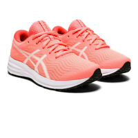 Asics Womens Patriot 12 Running Shoes Trainers Sneakers Orange Pink Sports
